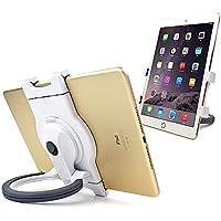 Careu portatile 360gradi di rotazione regolabile supporto universale per tablet per cucina, letto, auto e scrivania, adatto a iPad, iPad Air, iPad Mini, Samsung Galaxy Tab e più 7–25,7cm per tablet