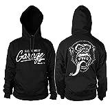 Officially Licensed Merchandise Gas Monkey Garage Hoodie (Black), Medium
