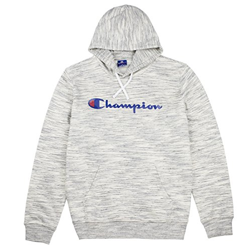 Champion Herren Kapuzenpullover Hooded Sweatshirt-American Classics, Grau (Snnm), Large (Champion Sportbekleidung)