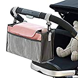 EudoER 1 Pieza Bolso Carro Bebé de Almacenamiento Bolsa de Pañales para Impermeable Infantil