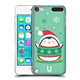Head Case Designs Knitted Shirt Kawaii Christmas Penguin Hard Back Case for iPod Touch 5th Gen / 6th Gen
