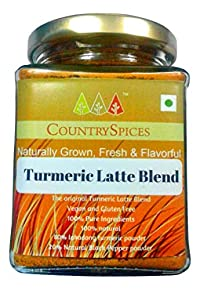 CountrySpices Turemric Latte Blend, (300g),