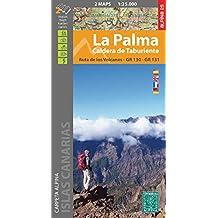 La Palma 1:25 000: Set of 2 maps