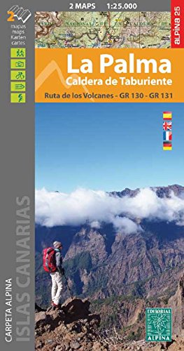La Palma 1:25 000: Set of 2 maps