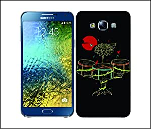 Galaxy Printed 2445 Music In Nature Drunk Hard Cover for Samsung S3