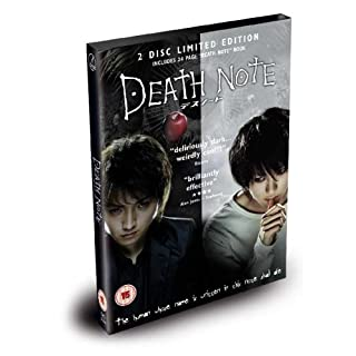 Death Note - The Movie (2 Disc Limited Edition) [DVD]