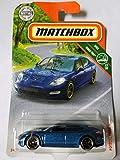 Matchbox Porsche Panamera blau-metallic 1:64