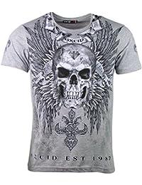 OXCID T-Shirt - Diamond Skull - Totenkopf Motiv est 1987 - in Verschiedenen  Farben 9456f76971