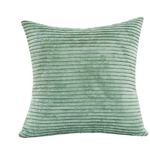 fdsafd Neue Plüsch Kissenbezug Soft Fur Liner Covercorn Bar Platz Taille Dekokissen Abdeckung Geschenk Drop Pad (grün) -