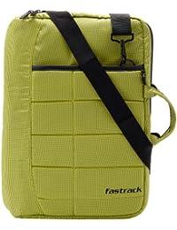 Fastrack Polyester Green Messenger Bag (A0329NGR01)