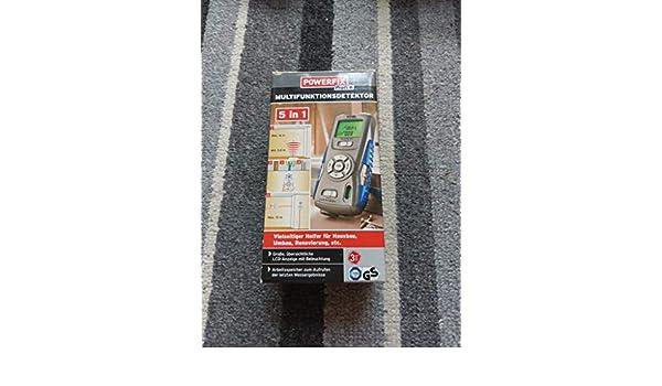 Powerfix Ultraschall Entfernungsmesser Oder 4 In 1 Multifunktionsdetektor : Multifunktionsdetektor in messen prüfen amazon baumarkt