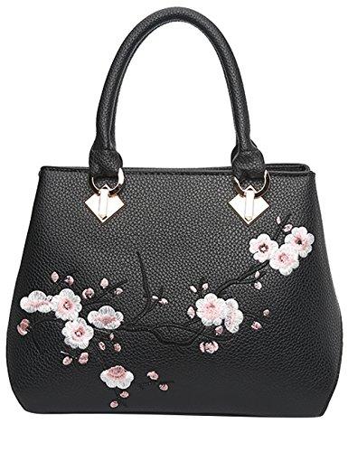 Menschwear Damen Handtasche Marken Handtaschen Elegant Taschen Shopper Reissverschluss Frauen Handtaschen Rosa Schwarz