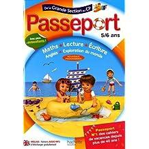 Passeport De la grande section au CP 5/6 ans - Cahier de vacances