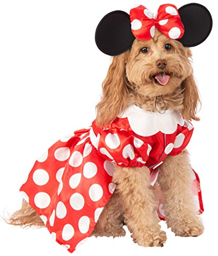 Kostüm Hunde Mouse Minnie - Rubie 's Disney: Mickey Mouse & Friends Pet Kostüm, Minnie Mouse, klein