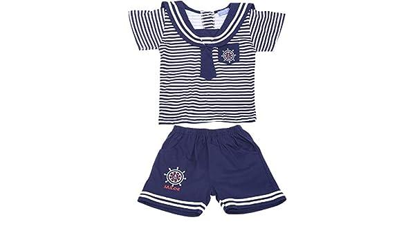 Sailor MARINE Streifen STRIPED Matrosen Jungen Hose /& Shirt 2-teiler Rockabilly