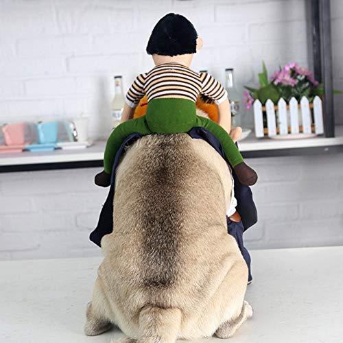 Welpen Kostüm Tragen - ZZQ Halloween Party Haustier Hund Kostüm lustige Cosplay Präsident tragen Puppe Tuch Haustier Hund Welpe Halloween Dress Up Party kreative Hoodies,XL