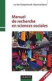 Manuel de recherche en sciences sociales - 4e edition