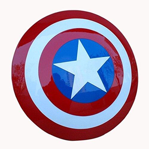 OM Captain America Shield (TM) ABS 1:1 Prop Replica Nachbildung Erwachsene
