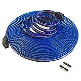 4-polig 10m RGB Verlängerungskabel Linie LED Kabel RGB Verbinder für LED-Strip-RGB5050/RGB3528 LED Streifen Licht Band Lampe(10m/32.8ft)[Energieklasse A++]
