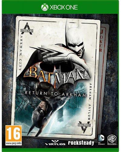 Batman Return to Arkham XB-One AT HD Collection Arkham Asylum & City (Arkham City Asylum)