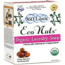 Eco Nuts As Seen on Shark Tank Organic Laundry Soap - 360 Loads Per Box by Eco Nuts
