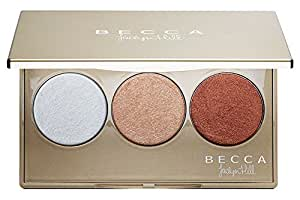 Becca Shimmering Skin Perfector Pressed Champagne Glow Palette Featuring Champagne Pop By Jaclyn Hill