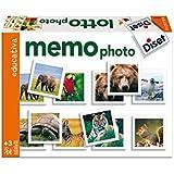 Diset - 63688 - Jeu de société - Jeu éducatif - Memo Photo Animaux