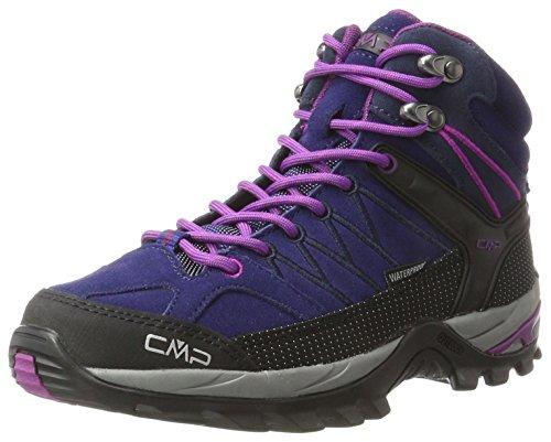 CMP Damen Rigel 3Q12946, Trekking- & Wanderhalbschuhe, Blau (Cobalto-Purple), 41 EU