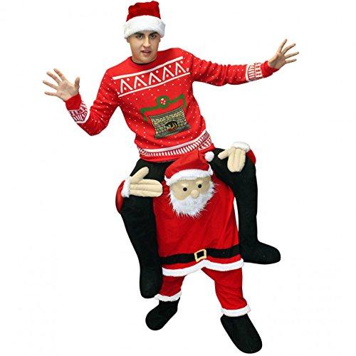 Morphsuits MCPBSA - Weihnachtsmann Huckepack Kostüm - Uni (Weihnachtsmann Kostüm 2017)