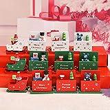AMUSTER Weihnachten Deko Vintage Zug Tisch Dekorations Spielzeug für Kinder Grün Rot Weiß Weihnachts Kinderzimmer Dekoration Festlich Geschenk - 2