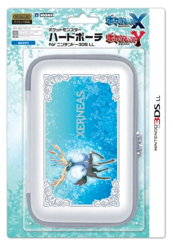 Pokemon 3DS XL Hard Case XERNEAS Carrying Travel Pouch Protector XY by Pokémon (3ds Nintendo Pokemon Xy Xl)