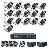 iBall CCTV FULL HD 720P 1.0 MP HD CCTV 16 Cameras With 16