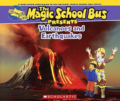 Volcanoes & Earthquakes (Turtleback School & Library Binding Edition) (Magic School Bus Presents) by Joanna Cole (2015-01-06) (Presents Magic Bus School)