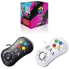 Console Retro Neo Geo Mini International - 40 Jeux Inclus + Manette noire + Manette blanche