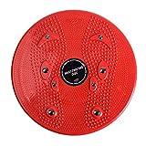 Delicacydex Praktische Haushalt Twist Taille Torsion Disc Board Magnet Aerobic Fuß Übung Yoga Training Gesundheit Twist Taille Board