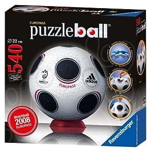 Ravensburger - Puzzle Ball 540 pièces - Ballon de Football : UEFA 2008