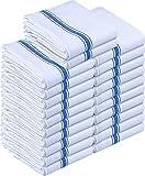 Utopia Towels - Geschirrtuch Küchentücher aus Baumwolle, 38 x 64 cm (Blau) (Blau, 24er Pack)