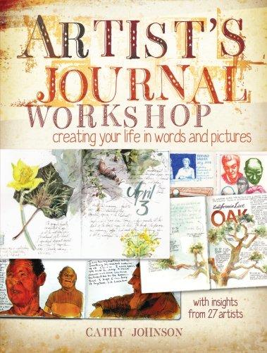 Artist Journal Workshop por Cathy Johnson