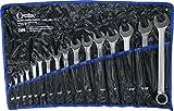 Jeu de 16 clés mixtes en pouce , 1/4 - 1.1/4 mm