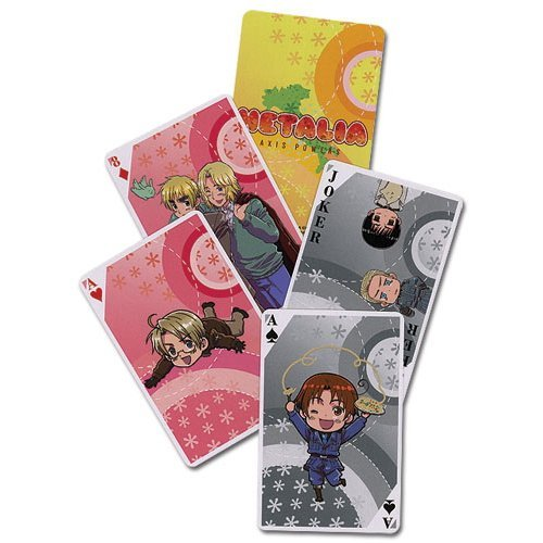 Hetalia Axis Powers Poker Spielkarten