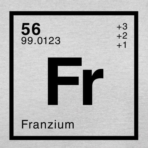 Franz Periodensystem - Herren T-Shirt - 13 Farben Hellgrau