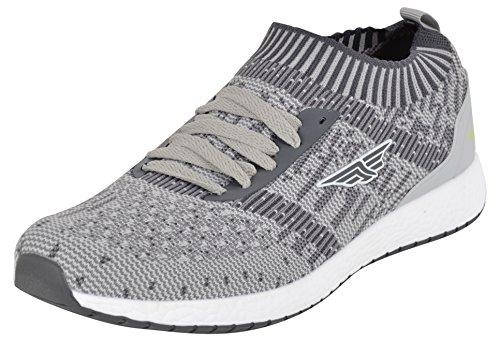 Red Tape Men's Grey Running Shoes - 9 UK/India (43 EU)