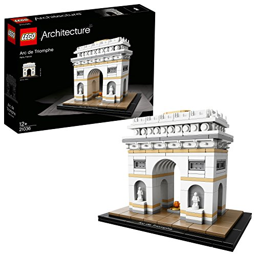 LEGO Architecture - L'Arc de Triomphe - 21036 - Jeu de Construction