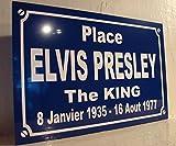 """""""Place ELVIS PRESLEY"""" Straßenschild, Sammlerstück, originelles Geschenk"""