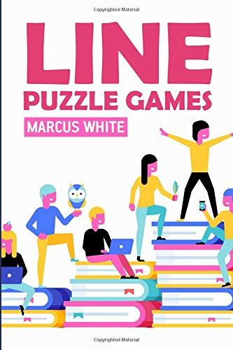 Line Puzzle Games: Find Squares Puzzles (Logic Puzzle Magazine) por Marcus White