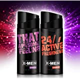 X-MEN Deodorant Body Spray AMAZE+CHARGE (Combo Pack Of 2 X 150 Ml) For Men