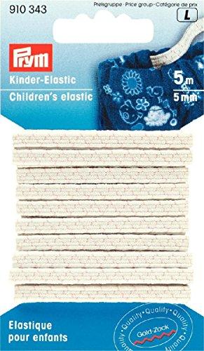 Prym Kinder-Elastic Gummiband Gummilitze 5m x 5mm Nr. 910343 Kinder-elastic
