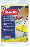 Vileda 141444 Bodentuch Soft mit 30% Microfaser - zur besonders sanften Reinigung mit Geruchsstoptechnologie - gute Schrubberhaftung