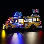 BRIKSMAX-Kit-di-Illuminazione-a-LED-per-Lego-Hidden-Side-Autobus-di-Intercettazione-ParanormaleCompatibile-con-Il-Modello-Lego-70423-Mattoncini-da-Costruzioni-Non-Include-Il-Set-Lego