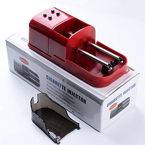 yuanbogg Tubeuse A Cigarette Electrique Double Tube Petit Cigarette Portable Accessoires Cadeaux pour Hommes@Rouge